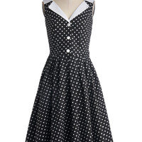 Love You Brunches Dress in Black | Mod Retro Vintage Dresses | ModCloth.com