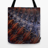 The Alien Ship Tote Bag by Lyle Hatch
