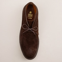 ALDEN® FOR J.CREW ROUGHED-OUT SUEDE CHUKKA BOOTS