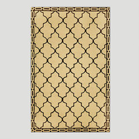 Wheat Floor Tile Indoor-Outdoor Rug