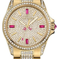 Juicy Couture 'Stella' Pavé Crystal Bracelet Watch, 40mm | Nordstrom