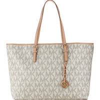 MICHAEL Michael Kors Jet Set Logo Macbook Travel Tote