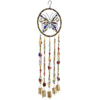 Beaded Butterfly Windchime