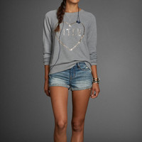 Julia Sequin Sweatshirt