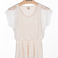 Daytrip Lace Overlay Top