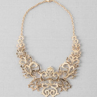 DREUX FILIGREE STATEMENT NECKLACE