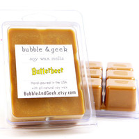 Butterbeer Soy Wax Tart Melts - Harry Potter