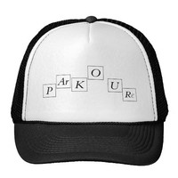 parkour truckers hat