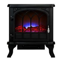Duraflame 750W/1500W Electric Stove Heater with LED Flame Effect — QVC.com