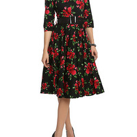 Hell Bunny 50's Eternity Floral Dress