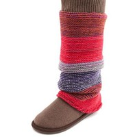 COLORFUL KNIT SLOUCHY BOOT