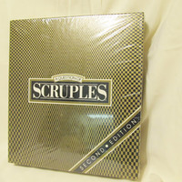 1987 A Question Of Scruples - Vintage Game - Never opened - Still sealed - Excellent Condition - Party Game - Adult Conversation Game