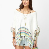 SERENE MORNING PONCHO