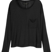 Pocket Ls Tee - Black | rag & bone Official Store