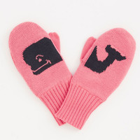 Girls Whale-n-Tail Mittens