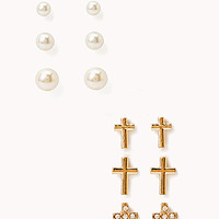 Pretty-Tough Cross Stud Set