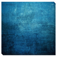 Deep Blue I Oversized Gallery Wrapped Canvas