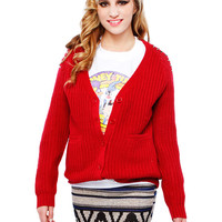 SHOULDER STUD CARDIGANS