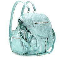 Alexander Wang - MARTI METALLIC LEATHER BACKPACK