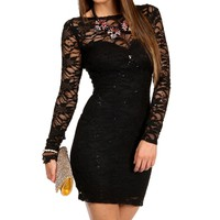 Mack- Black Homecoming Dress