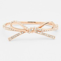 kate spade new york 'skinny mini' bow bangle (Save Now through 12/9) | Nordstrom