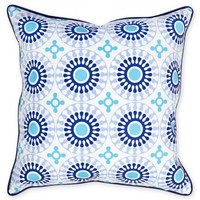 Jonathan Adler Bobo Medallion Canvas Throw Pillow