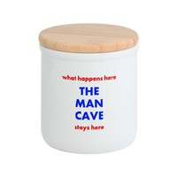 THE MAN CAVE Cookie Jar
