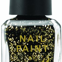 Barry M Cosmetics Glitter Nail Paint Gold Glitter Mine 10ml