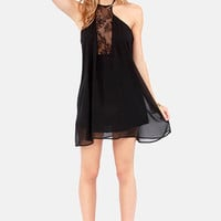 Goodness Laces! Black Halter Dress