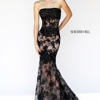 Fitted Mermaid Gown by Sherri Hill