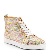 Glitter High-Top Sneakers