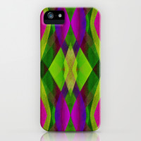 Abstract Modern Background G157 iPhone & iPod Case by MedusArt