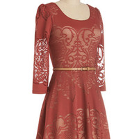 Twist is It Dress | Mod Retro Vintage Dresses | ModCloth.com