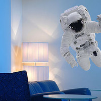 Educational Astronaut Wall Sticker