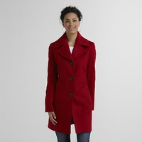 Covington Women's Single-Breasted Peacoat