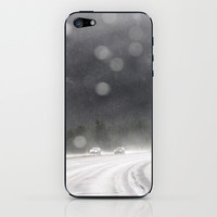 rainy trip iPhone & iPod Skin by Marianna Tankelevich