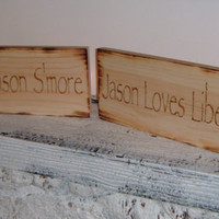 Rustic Country S'more Candy Bar Signs!