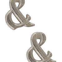 Of Mice & Men Ampersand Earrings