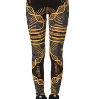 The Regalia Noir Leggings