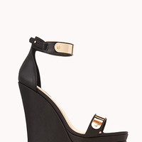 Luxe Wedge Sandals