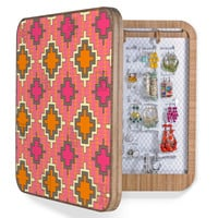Sharon Turner Tangerine Kilim BlingBox