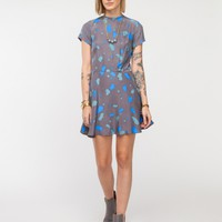 Dusen Dusen / Box Swing Dress in Amoeba