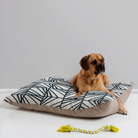 Heather Dutton Facets Optic Pet Bed