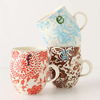 Homegrown Monogram Mug by Anthropologie Assorted