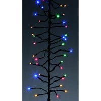 Premier Decorations Set of 480 LED Multi Coloured Multi Action Cluster Lights - Premier Decorations from Castlegate Lights UK