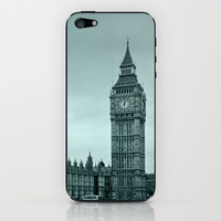 Big Ben iPhone & iPod Skin by Alice Gosling