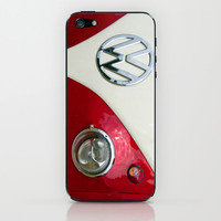 VW T2 Split Screen iPhone & iPod Skin by Alice Gosling