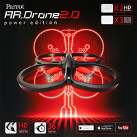 Parrot® AR.Drone® Quadricopter Power Edition