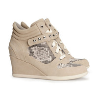 Wedge-heel Sneakers - from H&M
