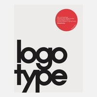 Michael Evamy: Logotype, at 33% off!